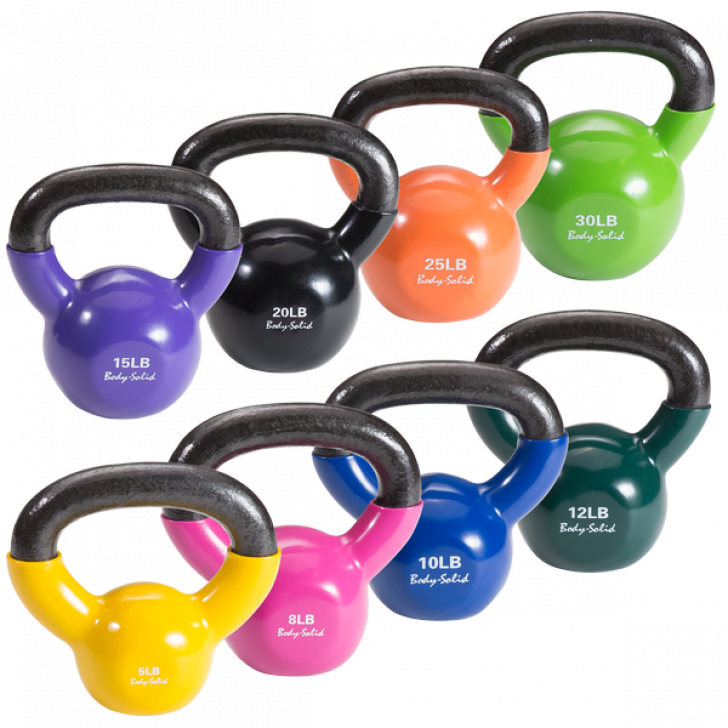 Picture of Vinyl Dipped Kettlebells