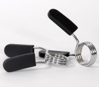 2 EZ-on Spring Collar with Rubber Grip