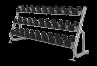 3-tier Dumbbell Rack w/Saddles - CS