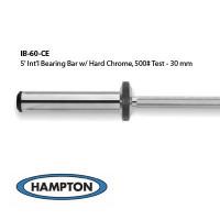 5' International Bronze Bushing Bar with Hard Chrome Finish. 500# Test - 30 mm