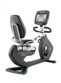 Life Fitness 95R Inspire Lifecycle Recumbent Exercise Bike- CS