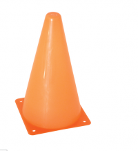 "9"" GAME CONE, ORANGE - BDSCONE9I"