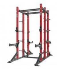 Hammer Strength HD Athletic Half / Half Combo Rack with Bench - CS