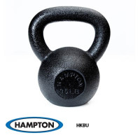 24kg Urethane Kettle Bell with Stainless Steel Handle - CS
