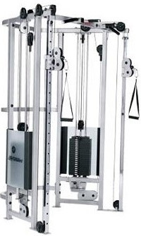 Life Fitness Dual Adjustable Pulley-CS