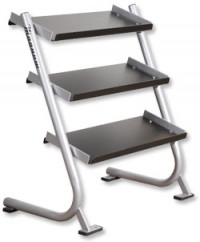 A44 - 3 Tier 9 pc. Beauty Bell Rack