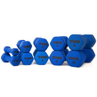TKO Neoprene Coated Dumbbells